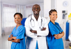 Profesionales médicos Imagen de archivo libre de regalías