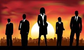 profesjonalista biznesowa drużyna ilustracja wektor
