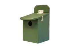 Profesjonalisty ptaka zielony dom Fotografia Stock