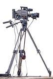 profesjonalne kamery video tło białe Obraz Stock