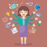profesor de escuela Imagen de archivo libre de regalías