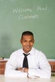 Profesor de escuela de sexo masculino Fotos de archivo libres de regalías