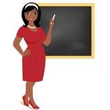 Profesor de la mujer stock de ilustración