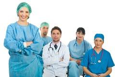 Profesor de la mujer del cirujano Foto de archivo libre de regalías