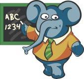 Profesor Elephant Fotografía de archivo libre de regalías