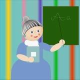 Profesor en clase. Imagen de archivo libre de regalías