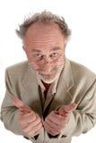 profesor kciuki w górę Zdjęcia Stock