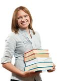Profesor o estudiante imagen de archivo libre de regalías