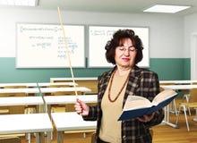 Professeur à l'école Images libres de droits