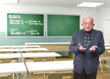 Professeur à l'école Photo stock