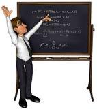 professeur 3d enseignant 3 le dessin animé 3 illustration stock
