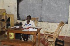 Professeur au Kenya Image libre de droits