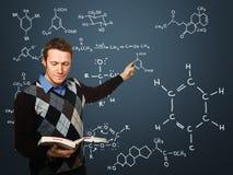 Professeur dans l'action Images stock