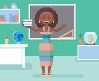 Professeur dans la chambre de classe Image stock