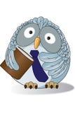 Professeur de hibou. illustration stock
