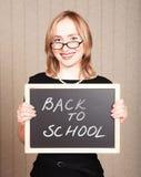 Professeur de sourire Photographie stock libre de droits