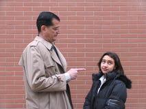 Professeur et étudiants Photographie stock libre de droits