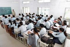 Professeur et étudiants Photo stock