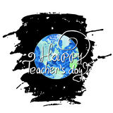 Professeur international Day illustration stock