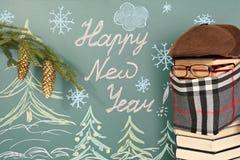 Professeur pendant la nouvelle année Image libre de droits