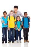 Professeur primaire d'enfants photos stock