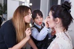Professeur professionnel de maquillage Photo libre de droits