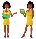 Professeur sexy African illustration libre de droits