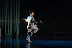 Professeurs masculins en République de Chine 8--Âne de drame de danse obtenir l'eau photo stock