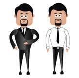 Profession_businessman illustration stock