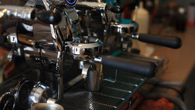Profession Coffee maker machine Stock Photos