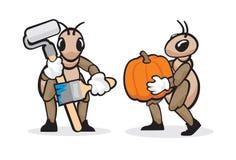 Profession 6 de fourmi Image libre de droits