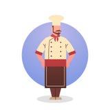 Profession de travailleur de restaurant d'Icon Chef Professional de cuisinier illustration stock