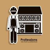 Profession design Royalty Free Stock Photo