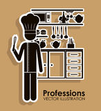 Profession design Stock Photography