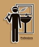 Profession design Stock Images