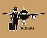 Profession design Stock Photos
