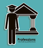 Profession design Stock Images
