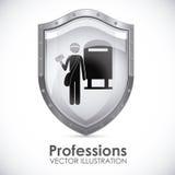 Profession design Royalty Free Stock Photos