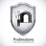 Profession design Royalty Free Stock Image