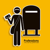 Profession design Royalty Free Stock Photography