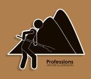 Profession design Stock Image