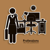 Profession design Royalty Free Stock Images