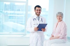 Profession of doctor Stock Photography