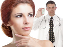 Profession Female Doctor Stock Photography