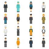 Profession Flat Avatars Set Royalty Free Stock Images