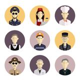 Profession icons Stock Images