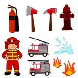 Profession job fireman Royalty Free Stock Photo