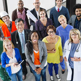 Profession Job Team Corporate Concept de carrière de personnes Photo libre de droits