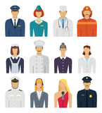 Profession people Royalty Free Stock Photo