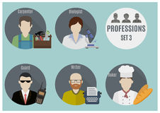 Profession people. Set 3 Stock Photos